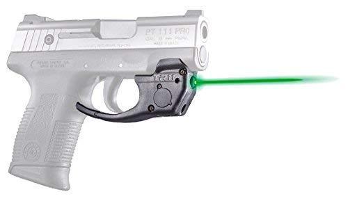 ArmaLaser Designed to fit Taurus Millenium Pro PT111 PT140 PT745 TR11G Super-Bright Green Laser with Grip Activation