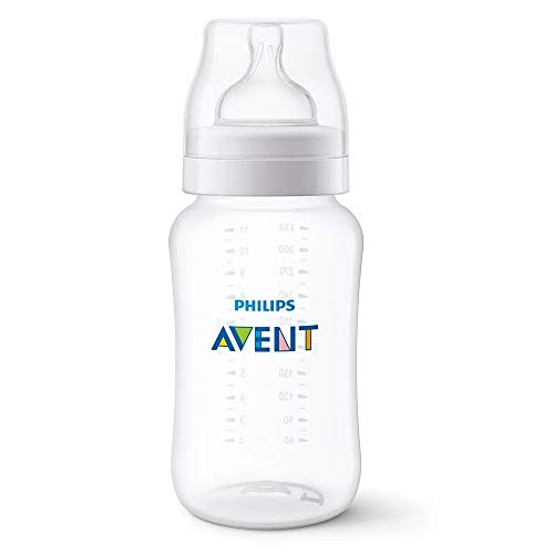 Mamadeira Anti-Colic Transparente 330Ml, Philips Avent, Transparente