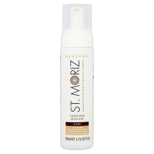 St. Moriz Professional Tanning Mousse Dark 200ml