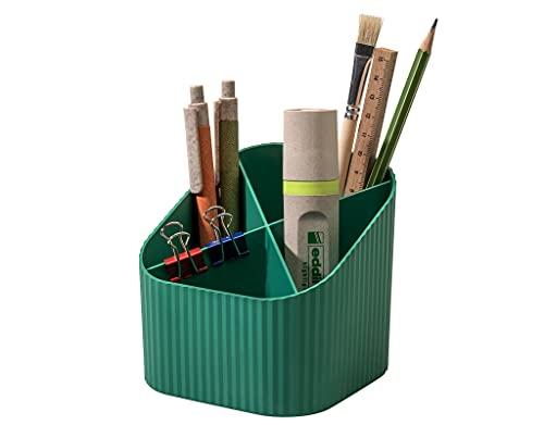 Karma 17248-05 - Portatodo (4 compartimentos, 80-100% reciclado), color verde