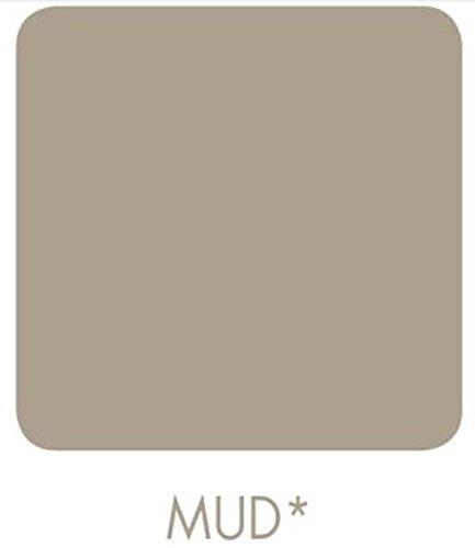Signeo Bunte Wandfarbe, MUD, Braun - Grau, matt, elegant-matte Oberflächen, Innenfarbe, 1 Liter