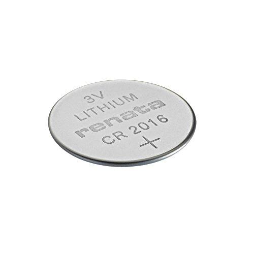 Pile bouton Lithium CR2016 3 V 80mAh x1