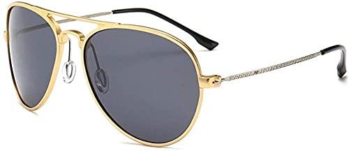 Gafas de sol polarizadas para hombre, bloquean 100% dañinos rayos UVA y UVB ultra ligeros y protección UV