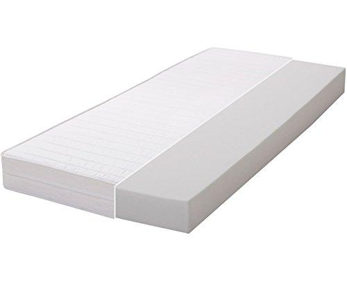 Gigapur Materasso, Schiuma, Bianco, 200 x 90 x 12 cm