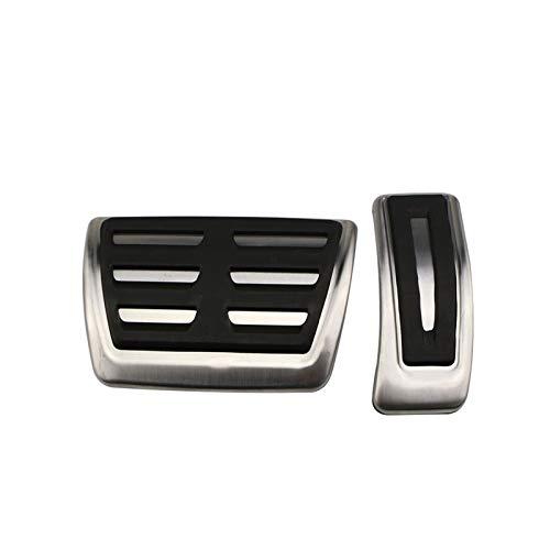 ZXC Pedales Deportivos Aptos for Audi A4 B8 A6 A7 A8 S4 RS4, A5 S5 RS5 8T, Q5 SQ5 8R Folleto de Freno de Combustible Pedal de Pedal Accesorios Automóviles Atmósfera Simple