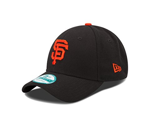 New Era Herren The League San Francisco Giants Offical Team Colour Baseball Cap, Schwarz (Black), One Size
