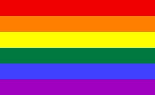 Planete Supporter Drapeau Arc en Ciel Rainbow Gay Pride - 150 X 90 cm
