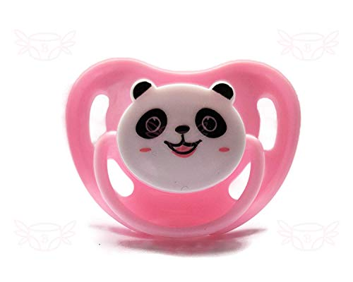 little for bigger Panda Adult Pacifier (Rosa)