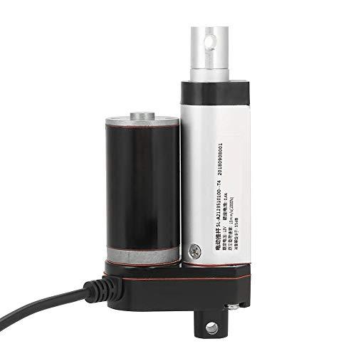 Actuador lineal-Carrera de 35 mm Heavy Duty 1000N Actuador lineal Motor de elevación eléctrica DC 12V