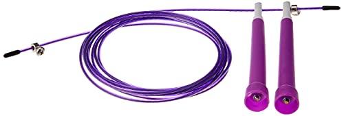 Corda De Pular Crossfit Speed Rope Rolamento 3m Cabo De Aço (Roxo)