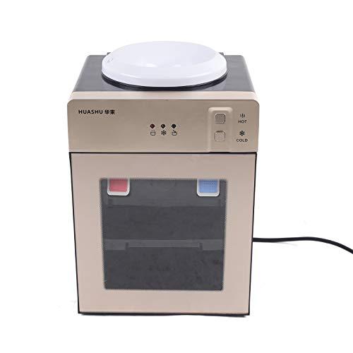 OUKANING Wasserspender,Cool&Hot Wasserspender 220V Wasserspender Thermoskanne Büro 550W Tischwasserspender energiesparend einfach zu bedienen für Trinkwasse