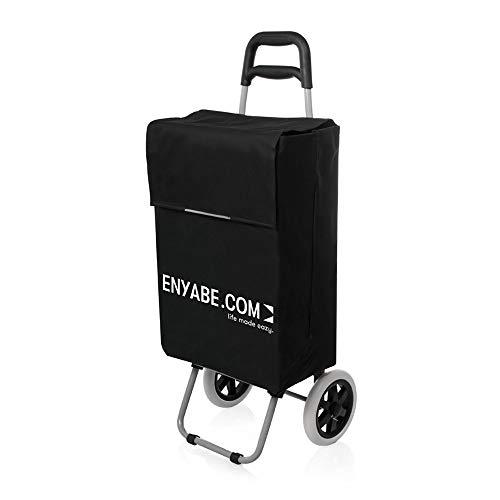 Enyabe Chariot De Course Noir