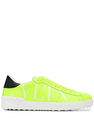 Valentino Luxury Fashion Garavani Herren TY0S0830HWG33M Gelb Leder Sneakers | Frühling Sommer 20