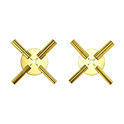 8-Size Solid Brass Clock Winding Keys - 4 Odd & 4 Even Sizes 3 to 10 from Brass Blessing (5191)