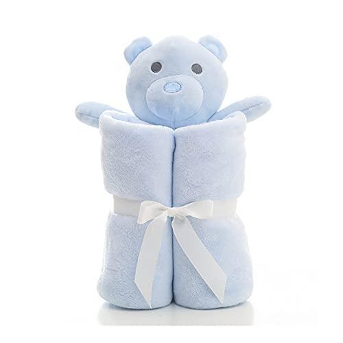 YGMXZL Baby copertina da neonato,Coperta per bambini,coperta per passeggino comoda,Coperta in Pile Sherpa,per neonato,miglior regalo per ragazze e ragazzi,100x100CM (blu)