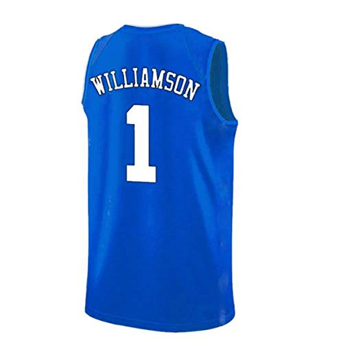 Mens Williamson Jersey Duke 1 Jerseys Adult Basketball University Zion Jersey Blue(S-XXL) (S)