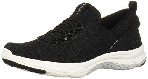 Ryka Women's Felicity Walking Shoe, Black Wool, 6 M US