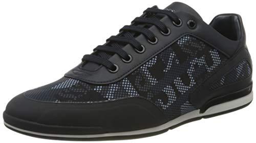 BOSS Business Herren Saturn_Lowp_nypr Sneaker, Dark Blue405, 46 EU