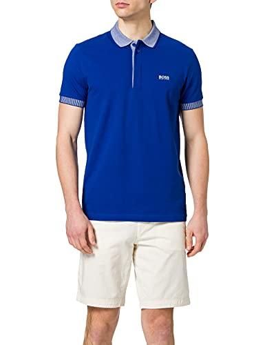 BOSS Herren Paule 2 10196402 01 Polohemd, Bright Blue438, L