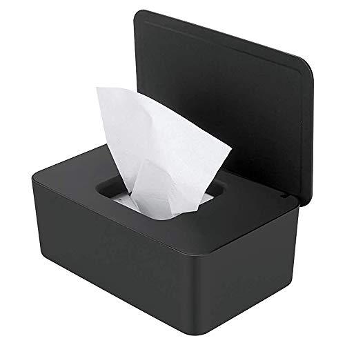 Vegena Luierdoekjes Dispenser Baby doekjes Warmer Box Tissue Box Case Natte doekjes Dispenser Doos met Deksel Non-Slip Baby Tissue Opbergdoos Stofdicht voor Thuiskantoor