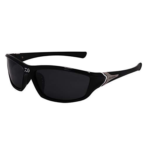 LDGGS Gafas de sol polarizadas deportivas para hombre y mujer, bicicletas de conducción, pesca de golf, correr, esquí, protección UV400, TR90, marco ligero, duradero e irrompible
