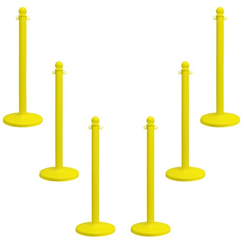 Mr. Chain 96402-6 Yellow Stanchion, 2.5