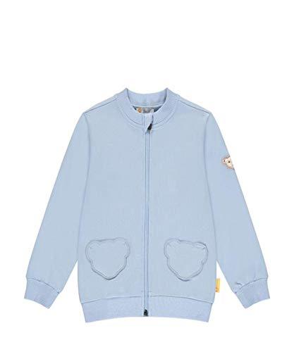 Steiff Mädchen Sweatjacke Sweatshirt, Brunnera Blue, 110