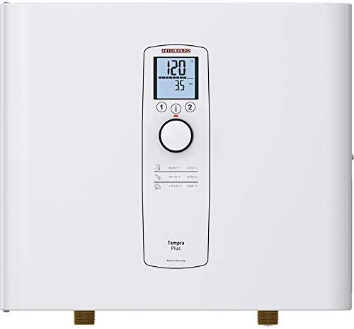 Stiebel Eltron Tankless Heater Tempra 36 Plus Electric On Demand Hot Water Eco White product image