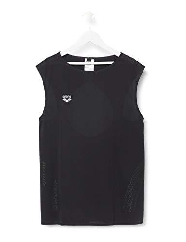 ARENA Damen A-One Ärmelloses Sport Shirt Camiseta sin Mangas, Mujer, Negro, Extra-Small