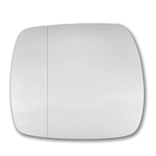 T/ür Stick auf Spiegel Ersatz Beifahrerseite Quick Fix Silber # reka-09//13-l /_ WA rekan Echtglas Spiegelglas Glas links
