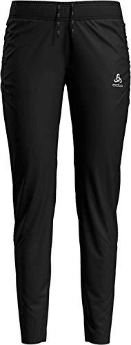 Odlo Pantalon Zeroweight pour Femme, Noir, XS