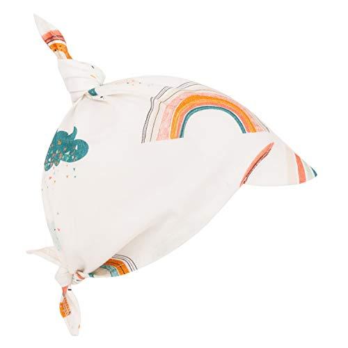 Sevira Kids - Casquette Bandana - Foulard bébé en coton avec visière - Arc-en-ciel