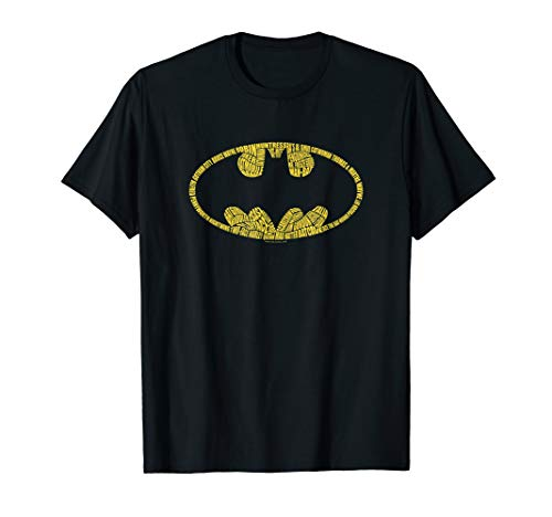 Batman Word Logo T Shirt
