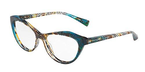 Alain Mikli Brillen Gafas de Vista 0A03061 TURQUOISE HAVANA 54/16/140 Damen