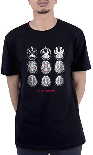 Cayler and Sons C&s WL Scan Tee T-Shirt, Blk/Wht, XS Uomo