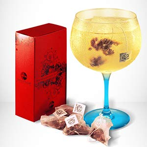 SABOREATE Y CAFE THE FLAVOUR SHOP Gin Botanicals & Spices Fruité - Gin Épices pour cocktails - 12 unités