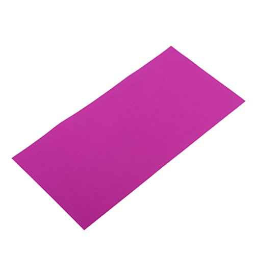 Homyl Selbstklebender Reparatur Aufkleber elastisch Flicken für Regenjacke, Zelt, 20x10cm - Lila