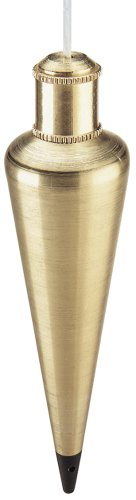Empire Level 912BR 12-Ounce Brass Plumb Bob