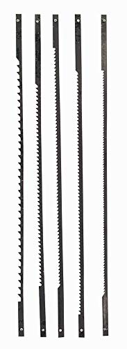 Original Einhell Dekupiersägeblatt-Set (passend für Dekupiersägen, 127 mm lang, 25 mm breit, 1x 10 Z, 1x 15 Z, 2x 18 Z, 1x 25 Z)