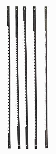 Einhell Decoupeerzaagbladset (geschikt voor decoupeerzagen, 127 mm lang, 25 mm breed, 1 x 10 Z, 1 x 15 Z, 2 x 18 Z, 1 x 25 Z)