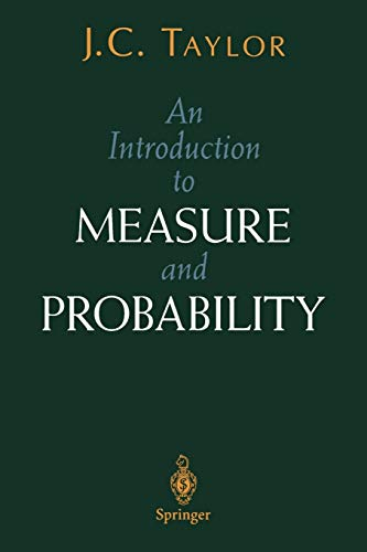 An Introduction to Measure and Probability (Textbooks in Mathematical Sciences)