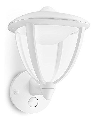 Philips myGarden LED Wandaussenleuchte Robin, Bewegungsmelder, weiß, 154793116