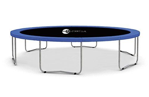 LS-430-B LifeStyle ProAktiv Garten- Trampolin ohne Netz 430cm - 14ft - 180kg Traglast