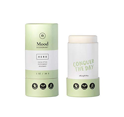 Coconut Matter All Natural Deodorant for Women and Men – Handmade Vegan Deodorant Aluminum Free and Natural – Zero Waste Deodorant with Coconut Oil, Peppermint, Eucalyptus and Rosemary, HERO