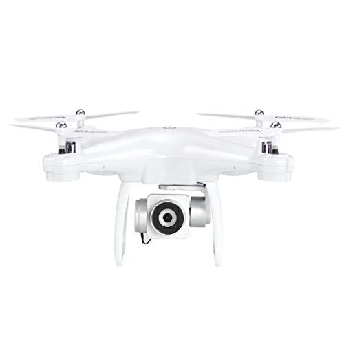 W-star Dual-Modus GPS-Kamera Positionierungsmodus, 2 Millionen Drohnen, App und Remote-WiFi, automatische Rückkehr, GPS-Tracking-Modus Drone RC Quadcopter, weiß
