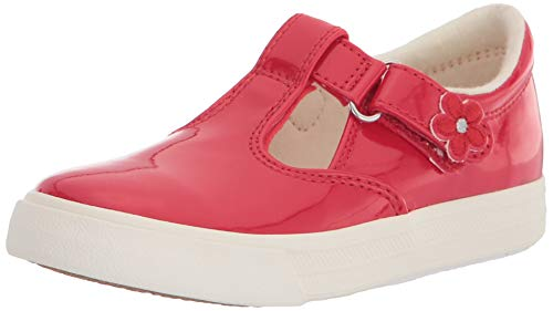 Keds unisex child Daphne Mary Jane Flat, Red Patent, 10.5 Wide Little Kid US