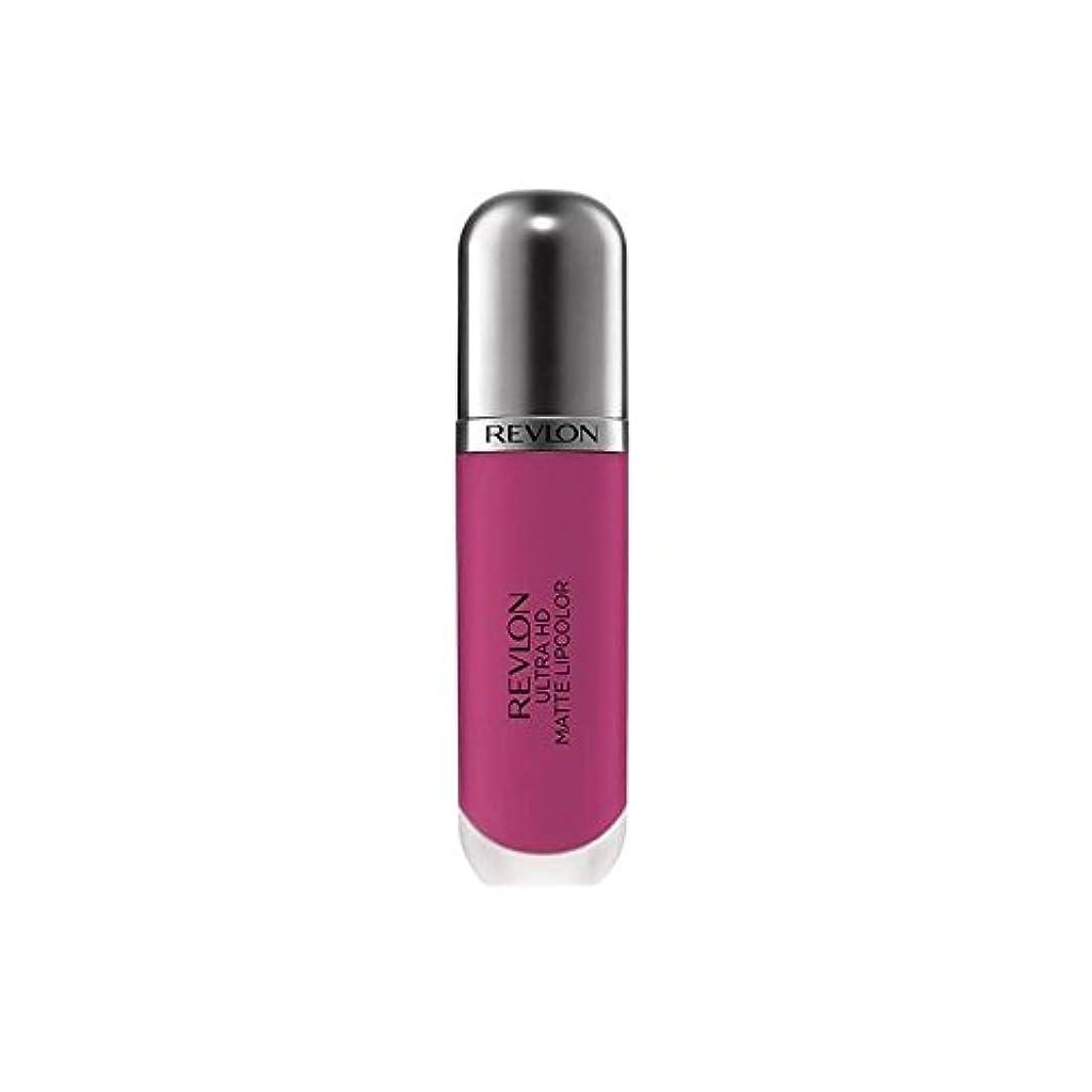 秘書動機付ける時代レブロン超のマット - 強度 x2 - Revlon Ultra HD Matte Lipcolor - Intensity (Pack of 2) [並行輸入品]