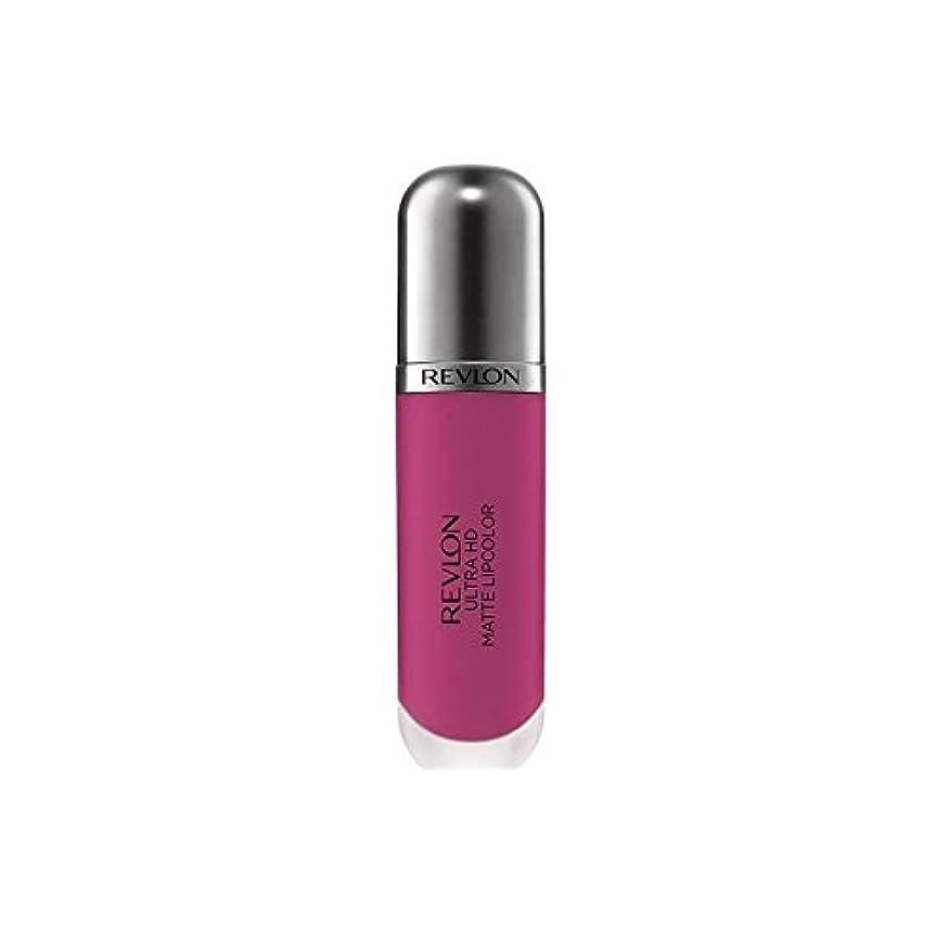 信者グローブ話Revlon Ultra HD Matte Lipcolor - Intensity - レブロン超のマット - 強度 [並行輸入品]