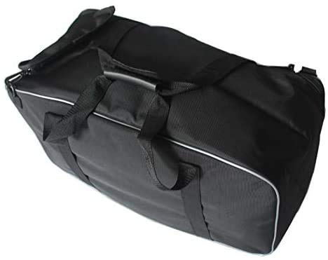 QYA High Quality Motorcycle Motorbike Black Saddlemen Tour Pak Pack Soft Liner InnerBag Luggage Bag For Harley Touring Sturdy Material
