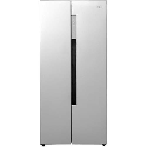 Haier hrf-450Ds6 Freestanding A+ Rated American Fridge Freezer - Silver